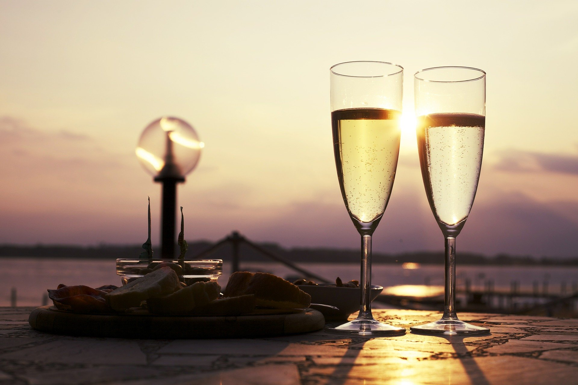 Champagne for an aperitif